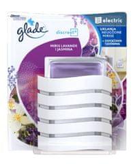 Glade električni osvežilec zraka Discreet, sivka/jasmin, baza + polnilo, 8g