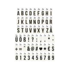 Butlers Sada písmen pro světelný box A7 90 ks