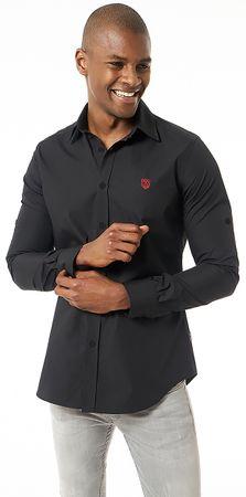 Jimmy Sanders pánska košeľa XXL čierna