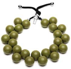 Ballsmania Originálne náhrdelník C206 18-0316 Verde Oliva