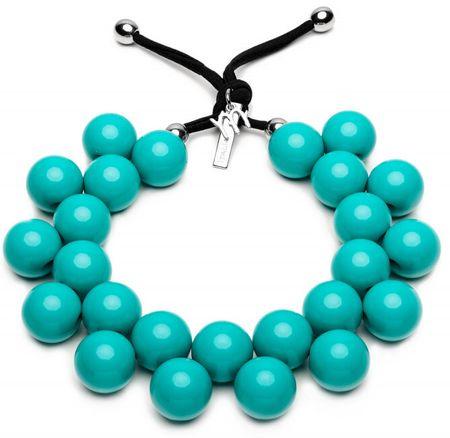 Ballsmania Eredeti nyaklánc C206 16-5127 Azzurro Ceramica