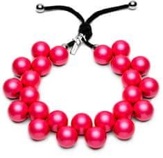 Ballsmania Originálne náhrdelník C206 18-2143 fucsia
