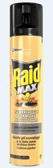 Raid sprej Max proti gomazečim insektom, 300 ml