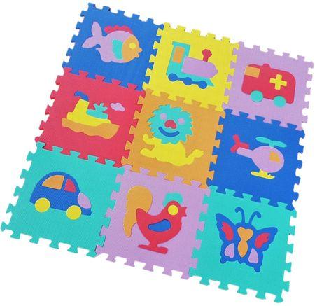 Alltoys Hab puzzle kirakó, közlekedési eszközök, 9 drb