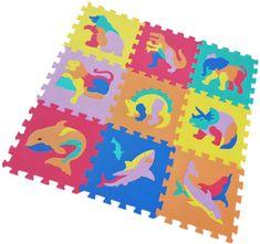 Alltoys Hab puzzle állatkák 9 drb