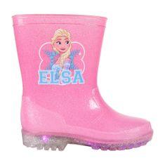 Disney dievčenské svietiace gumáky Frozen