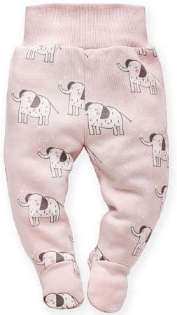 Pinokio Wild Animals lábfejes babanadrág kislányoknak 74 rózsaszín