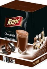 René Chocolate kapszulák Dolce Gusto kávéfőzőhöz 16 db