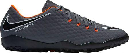 Nike muške nogometne tenisice Hypervenom Phantomx 3 Academy, tamno siva, 45