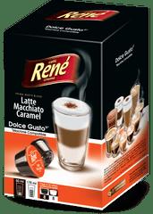René set kapsula Latte Macchiato Caramel za aparat za kavu Dolce Gusto 16 komada