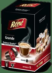 René set kapsul Grande za kavni aparat Dolce Gusto 16 kosov, 4 paketi