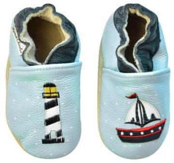 Rose et Chocolate dječje cipele s čamcem i svjetionikom, 18,5, plave