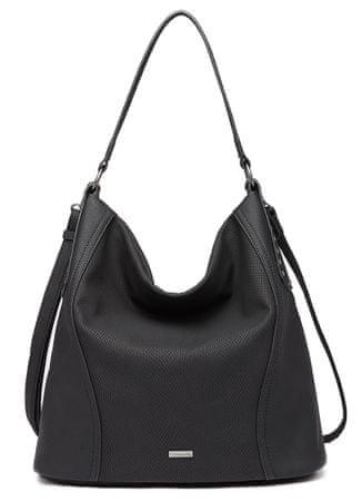 Tamaris kabelka Adora Hobo Bag L 3165192 čierna