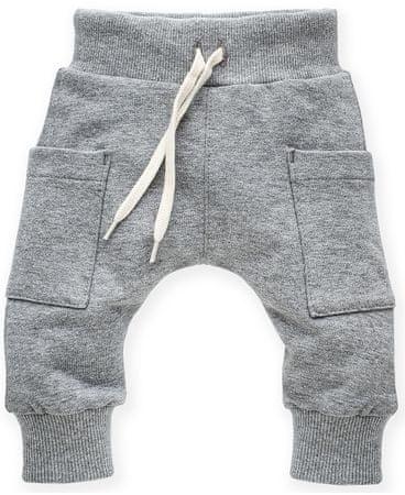PINOKIO dječje hlače Wild Animals, 74, sive
