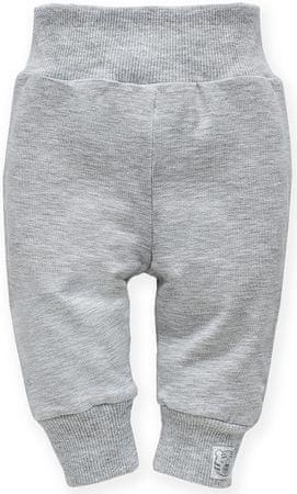 PINOKIO spodnie dresowe chłopięce Wild Animals 62 szare