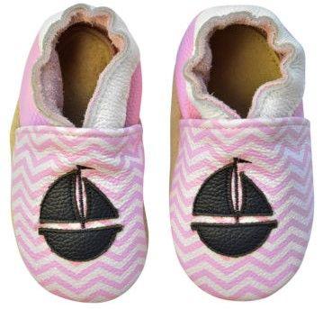 Rose et Chocolate lány kocsicipő hajóval 18,5 rózsaszín