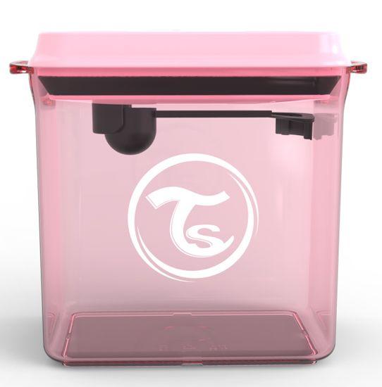 Twistshake Nádoba na sušené mléko Pastelově růžová