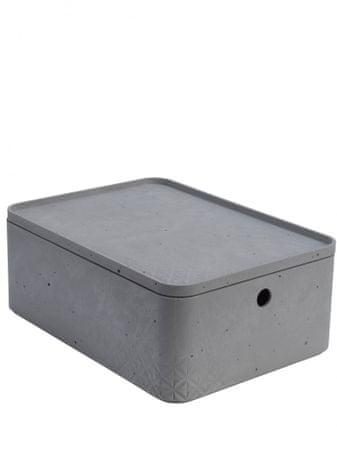 d6d1966ef CURVER úložný box beton M s víkem - Alternatívy | MALL.SK