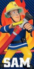 Carbotex Dětská osuška Požárník Sam