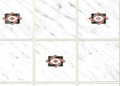 Gekkofix Samolepiaca fólia dekoratívna 11653 KACHLIČKA šedá - šírka 45 cm