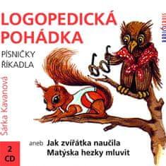 Kobr Tomáš, Suchánková Anna: Logopedická pohádka aneb Jak zvířátka naučila Matýska hezky mluvit (2x CD) - CD