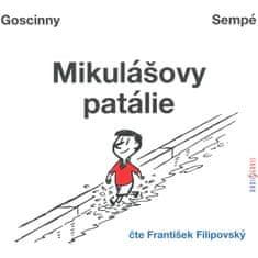 Filipovský František: Goscinny, Sempé: Mikulášovy patálie - MP3-CD