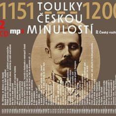 Various: Toulky českou minulostí 1151-1200 (2x CD) - MP3-CD