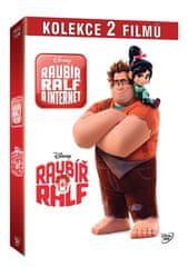 Kolekce Raubíř Ralf: Raubíř Ralf + Raubíř Ralf a internet (2DVD) - DVD