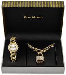 Gino Milano MWF14-044A ženski darilni komplet z uro in ogrlico