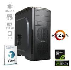 mimovrste=) namizni računalnik Player Ryzen5/16GB/GTX1660/NVMe250GB/1TB/FreeDOS