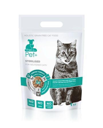 thePet+ 3in1 cat STERILISED 1 kg