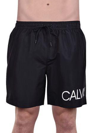 Calvin Klein Męskie szorty Medium Drawstring KM0KM00303 -001 Black (rozmiar M)