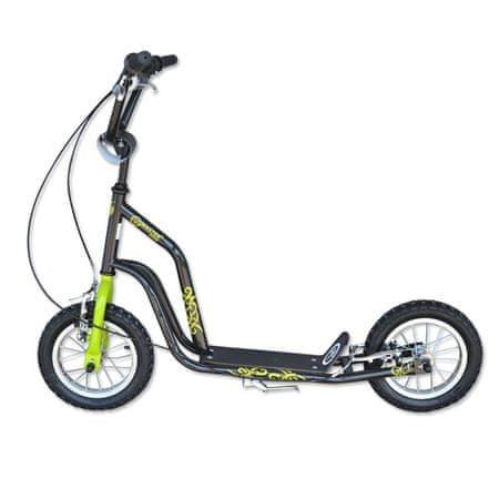 Master koloběžka Ride - černo-zelená
