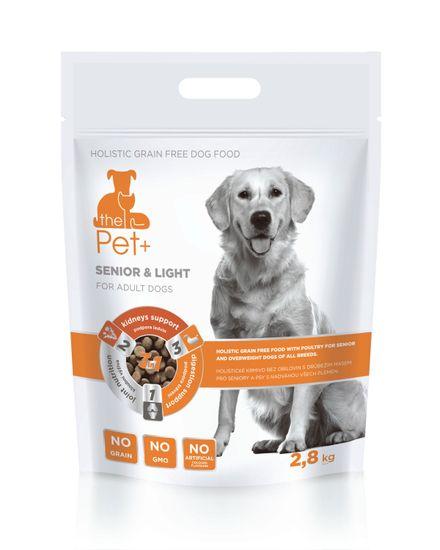 thePet+ 3in1 dog SENIOR & LIGHT Adult 2,8 kg