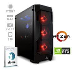 mimovrste=) namizni računalnik Ultimate Gaming Ryzen7/16GB/RTX2060/NVMe250GB/2TB/FreeDOS