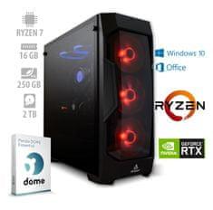 mimovrste=) namizni računalnik Ultimate Gaming+ Ryzen7/16GB/RTX2060/NVMe250GB/2TB/W10H