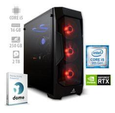 mimovrste=) namizni računalnik Beast i5-9600K/16GB/RTX2060/NVMe250GB/2TB/FreeDOS