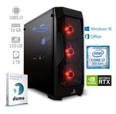 mimovrste=) namizni računalnik Gaming Performance+ i7-8700/16GB/RTX2070/SSD250GB/2TB/W10H