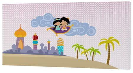 mr.Fox Nástenný obraz Aladdin, 27x54 cm