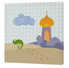 mr.Fox Nástenný obraz Aladdin - palác, 27x27 cm