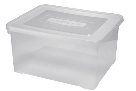 CURVER Handy box 9L átlátszó