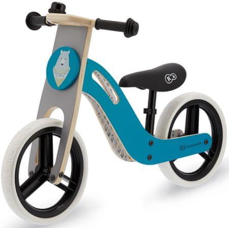 KinderKraft Uniq pedál nélküli gyerekkerékpár turquoise