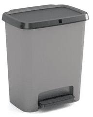 Kis Kôš na triedený odpad Compatta recycling 12 + 12 l, sivý