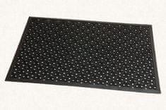 FLOMA Gumová čistící vstupní rohož Scrapy - 60 x 90 x 0,8 cm