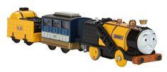 Fisher-Price Nowi Przyjaciele (lokomotywa + 2 wagony) Runaway Stephen