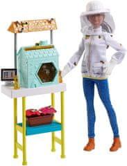 Mattel Barbie včelárka Povolanie herná súprava s bábikou