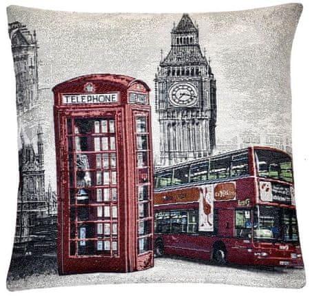 My Best Home Polštář WORLD CITY 45x45 cm Londýn