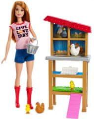 Mattel Barbie Farmer Szakma játékkészlet babával