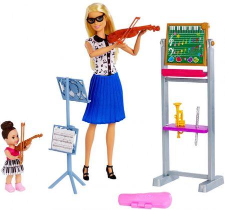 Mattel Barbie Hegedűs Szakma játékkészlet babával