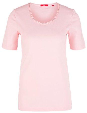s.Oliver dziewczęca koszulka 14.906.32.2796 34 jasny różowy